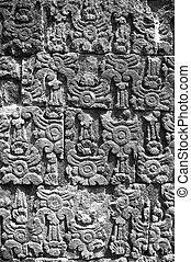 Hindu wall detail