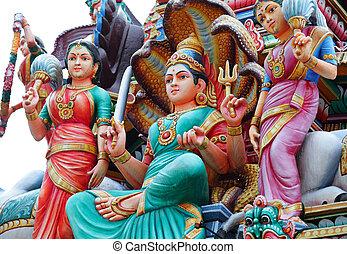 hinduismo, estatuas