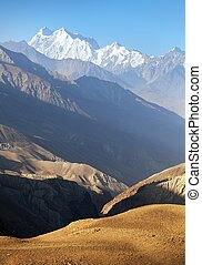 hindukush or hindu kush mountain ridge, afghanistan - ...