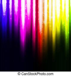 hintergrund., abstrakt, glühen