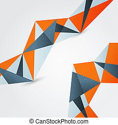 hintergrund., abstrakt, graphischer entwurf