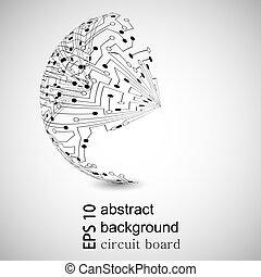 hintergrund., abstrakt, vektor, eps10