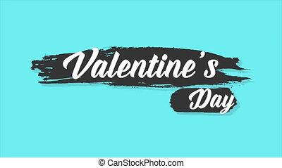 hintergrund, animation, von, gruß, valentine, tag