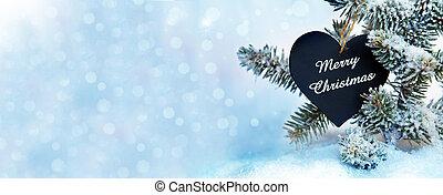 hintergrund, banner, weihnachten