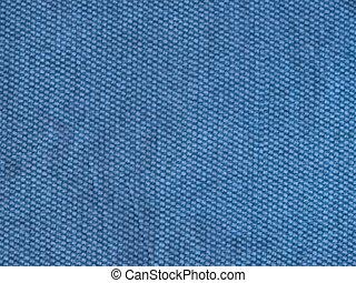 hintergrund, blauer stoff, beschaffenheit