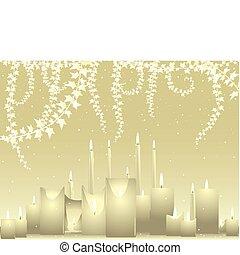 hintergrund, elfenbein, wedding