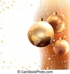 hintergrund., eps, weihnachten, fröhlich, 8