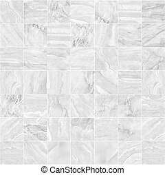 hintergrund., muster, mosaik, weißes
