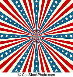 hintergrund, patriotisch, unabhängigkeit- tag, amerikanische...