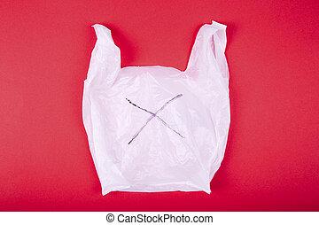 hintergrund, plastiksack