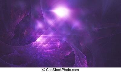 hintergrund, raum, fractals