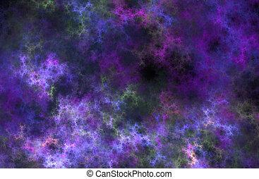 hintergrund, strahlen, fractal, wolke, chaos