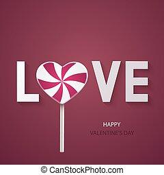 hintergrund., vektor, modern, tag, valentines