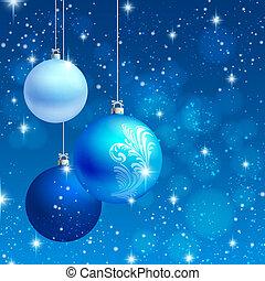 hintergrund, vektor, verzierung, weihnachtskarte
