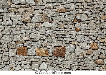 hintergrund, von, grau, steine