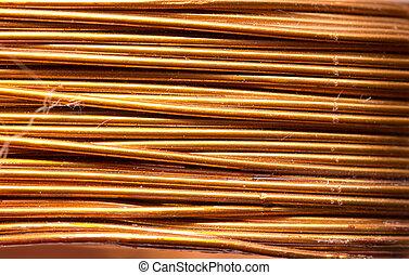 Kupfer draht, hintergrund Stockbild - Suche Fotos und Foto-Clipart ...