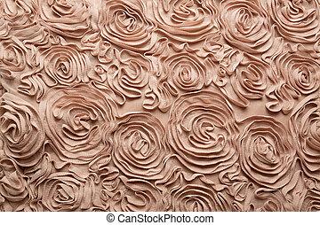rosa spitze muster detail perle stoff. Black Bedroom Furniture Sets. Home Design Ideas