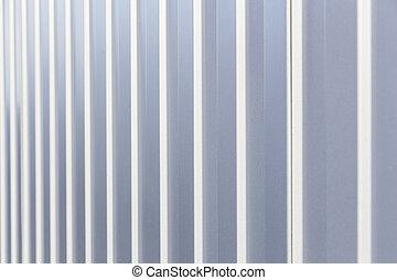 hintergrund, von, weißes, und, graue , streifen, auf, a, metall, lauge