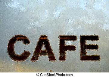 Hip Cafe Sign