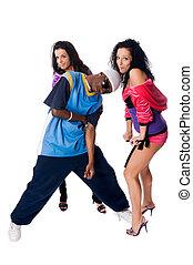 Hip-hop dancing team