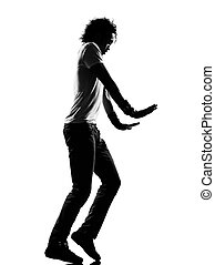 hip hop funk dancer dancing moonwalk man