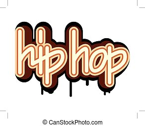 hip hop graffiti concept