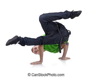 hip-hop style dancer