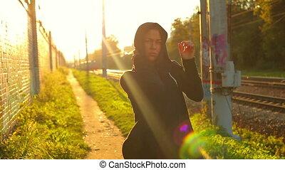 Hip-hop woman