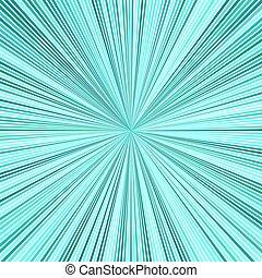 hipnótico, estrela, turquesa, listra, estouro, abstratos, fundo