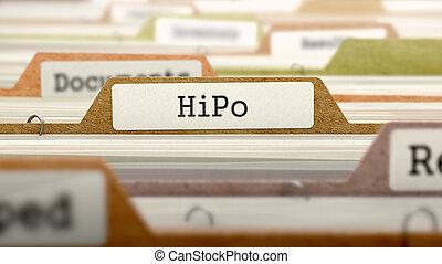 hipo, label., concept, fichier