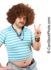hippie, beerbelly
