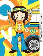 Hippie Boy & Van