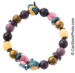 hippie bracelet isolated on white background