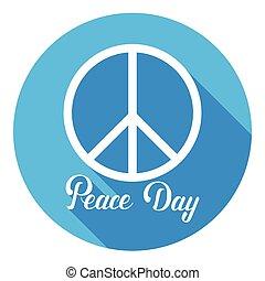 hippie, manifesto, segno pace, mondo, internazionale, vacanza, giorno