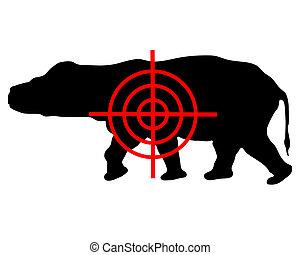 Hippo crosshair