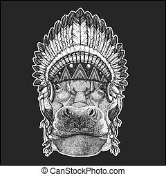 Hippo, Hippopotamus, behemoth, river-horse Cool animal...