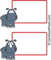 hippo rhino copyspace