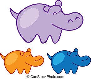 Hippo Sketch
