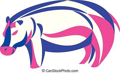 hippo-twisted-ribbon