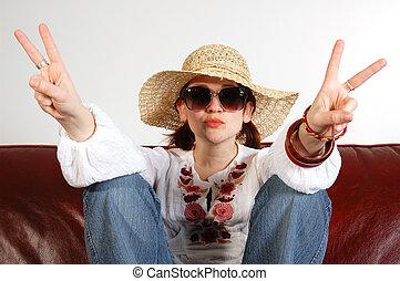 Hippy girl 3 - Hippy girl