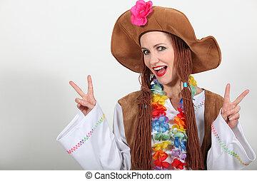 hippy, kostuum