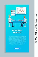 Hipster Animal, Personal Mentor Website Vector