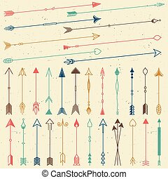 Hipster arrows collection