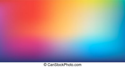 Hipster artistic design for abstract blurred gradient background in rainbow colors.