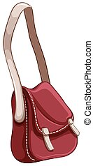 Hipster bag - Red hipster bag