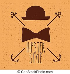 hipster, conception