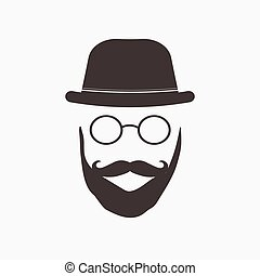 Hipster Glasses Illustration