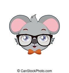 hipster, koala