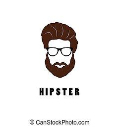 hipster, man.
