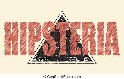hipster, moustache